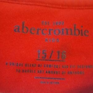 abercrombie kids Shirts & Tops - Abercombie kids striped long sleeve tee sz 15/16